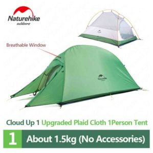 TENDA NATUREHIKE CLOUD UP 1 210T NH18T010-T (UPGRADE VERSION) [E2]